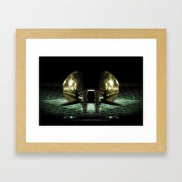 Macro cocina Framed Art Print