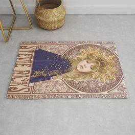 Stevie Nicks Poster, Fleet-wood Mac Poster, Wall Decor, Home Decor, Custom Poster, Custom Art, Living Room Decor, Hand Rock, Work Art Rug