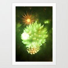 Efflorescence 32 Art Print
