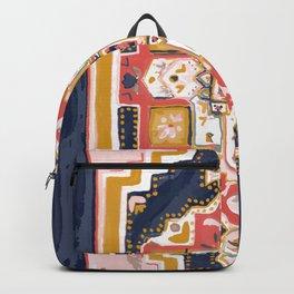 Rugs-Navy Backpack