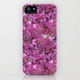 Amid the Lilacs iPhone Case