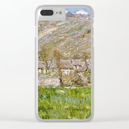 Claude Monet - Hamlet On The Cliffs Near Giverny Clear iPhone Case
