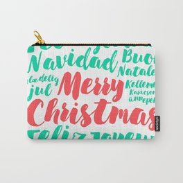 Merry Christmas! Carry-All Pouch