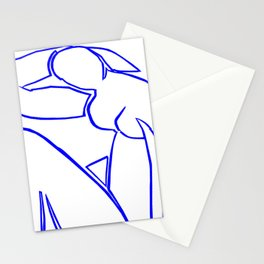 Blue Nude II by Matisse Stationery Cards