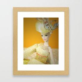 Liquid Lurex Framed Art Print