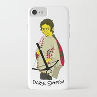 simpson iPhone & iPod Cases featuring Daryl Simpson by sara banu
