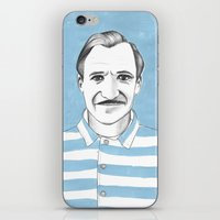 budapest hotel iPhone & iPod Skins featuring Ralph Fiennes. The Grand Budapest Hotel.  by Elena O'Neill