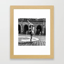 Ballet in the Park Framed Art Print