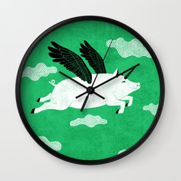 It´s always possible to reinvent yourself Wall Clock