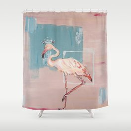 Fuchsia Prince Shower Curtain