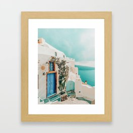 Holiday Home #travel #photography Framed Art Print