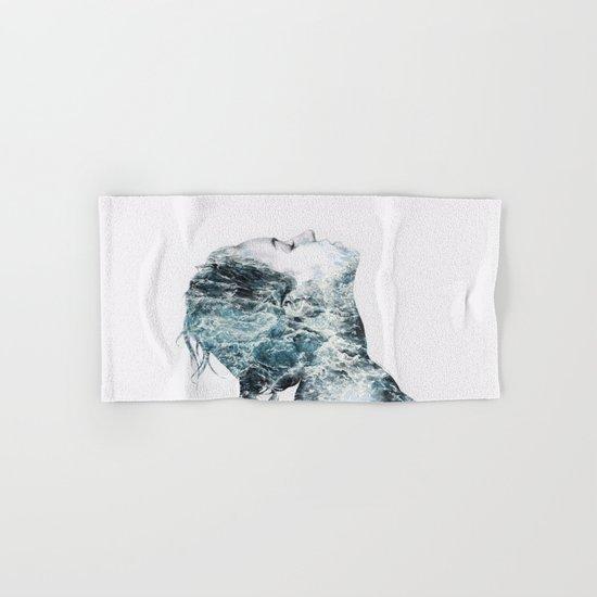 Drowning Hand & Bath Towel