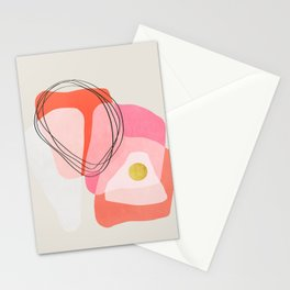 Modern minimal forms 51 Stationery Cards