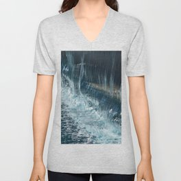 #waterfalls Unisex V-Neck