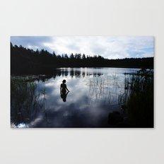 Reflecting Beauty Canvas Print