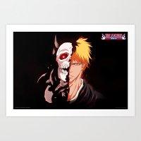 bleach Art Prints featuring Bleach poster by Tremblax1