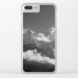 Himalayan Mist: 3 Clear iPhone Case