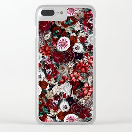 NIGHT FOREST XXIV Clear iPhone Case