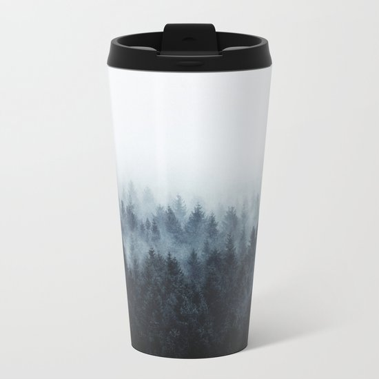 High And Low Metal Travel Mug