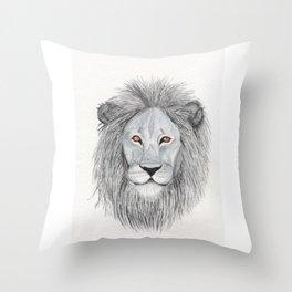 Leo-watercolor Throw Pillow