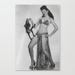 Iconic Images: Sally Lane & Fifi Canvas Print