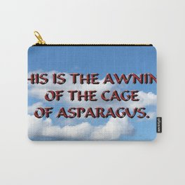 Cage of Asparagus Carry-All Pouch