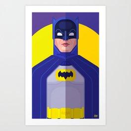 Bat 66 Art Print