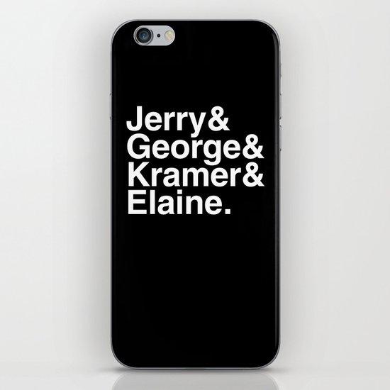 Seinfeld Jetset iPhone & iPod Skin