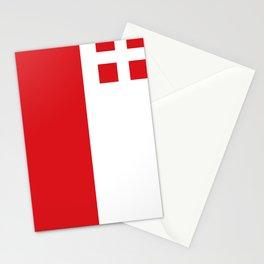 Utrecht region flag Netherlands province Stationery Cards