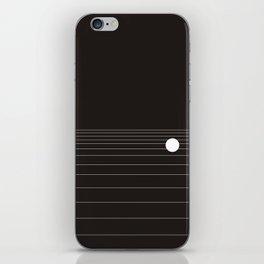 Calm water Lake Moon Minimal iPhone Skin