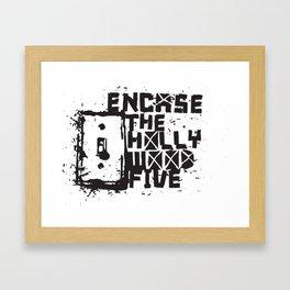 Hollywood Five Framed Art Print