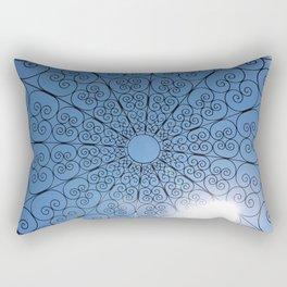 Elegant Sky Design Rectangular Pillow
