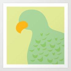 Tropical - Bird Art Print