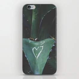 cactus love iPhone Skin