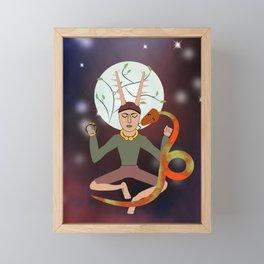 Cernunnos Framed Mini Art Print