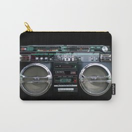 Retro 80's objects - Guetto Blaster Carry-All Pouch