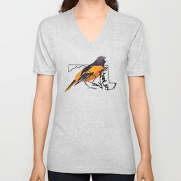 Maryland – Baltimore Oriole Unisex V-Neck