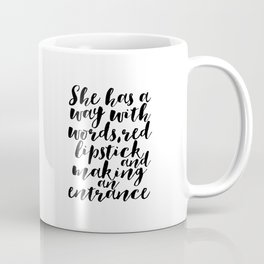 Makeup Quotes Makeup Decor Quotes Fashion Decor Gift For Her Women Gift Fashionista Boss Lady Office Coffee Mug