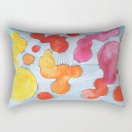 Entangled hot air baloons Rectangular Pillow