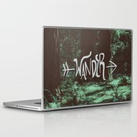 wander Laptop & iPad Skins featuring Wander by Leah Flores