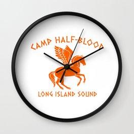 Camp Half Pegasus Wall Clock