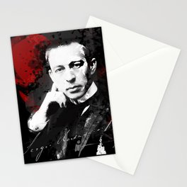 Sergei Rachmaninoff - Russian Pianist, Composer, Conductor Stationery Cards