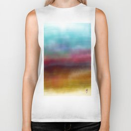 C for Colorful Biker Tank