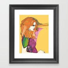 Embelishment Framed Art Print