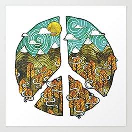 PEACE---ART Art Print