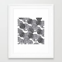 planets Framed Art Prints featuring PLANETS by Mari
