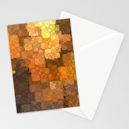 Copper Mosaic Stationery Cards
