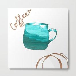 coffee,coffee,coffee Metal Print