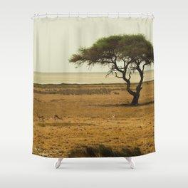 African Savannah Shower Curtain