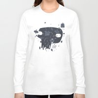 karma Long Sleeve T-shirts featuring Karma by tipa graphic